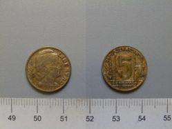 5 Centavos of the Republic of Argentina