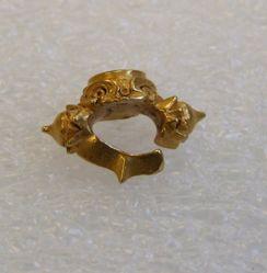 Round Bezel Ear Ornament