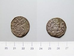 Silver groschen of Wladislaus II Jagiello from Poland