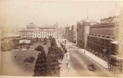 Wynyard Square, York Street, Sydney, from the album [Sydney, Australia]