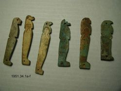 6 Mummy beads