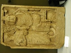 Cast of Zeus Kyrios Cult Relief