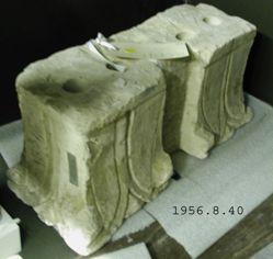 Coptic stone double capital