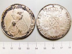 Coin of Ferdinand de Hompesch from Malta