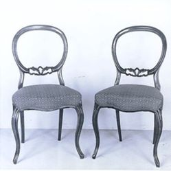 Six Drawing Room Chairs