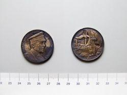 Silver Medal of Nikolaus Burggraf