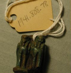 Amulet: two Ba-birds