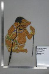 Shadow Puppet (Wayang Kulit) of Galiyuk, from the set Kyai Drajat