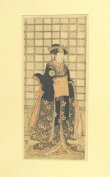 Iwai Kiyotaro in a Woman's Role