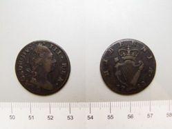 Half penny of George III from Ireland