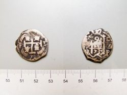 Reales of Philip V, King of Spain from Unknown