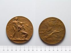 Bronze Medal from Belgium of Peace