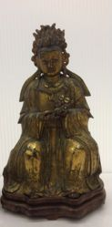 One of a Pair of Daoist Deities: Yanguang Niangniang