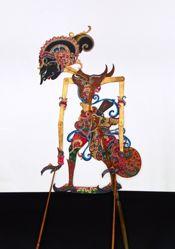 Shadow Puppet (Wayang Kulit) of Yudistira or Putadewa
