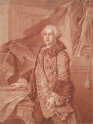 Portrait of Able Francois Poisson de Vandieres, Marquis of Margny, after Louis Tocque