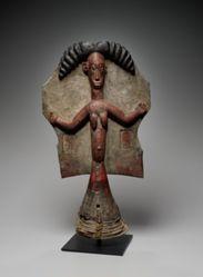 Headdress Surmounted by a Female Figure