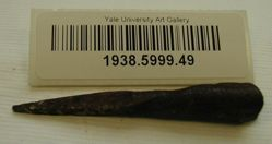 Iron fragment of a spear/lance tip