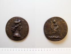 Bronze medal of Carlo Quirino