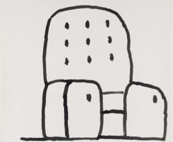 Untitled [Chair], from Suite of 21 Drawings