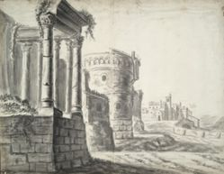 Classical ruins and other buildings