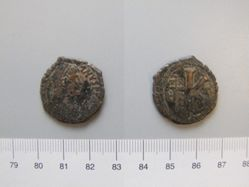 Half-follis (20-nummi) of Justinian I