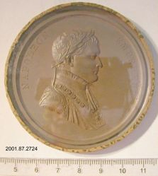 Uniface medal with Napoleon crossing the Great St. Bernard, 1800