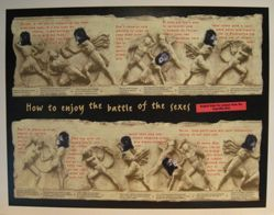 Battle of the Sexes (project for The New Yorker), from the Guerrilla Girls' Compleat 1985-2008