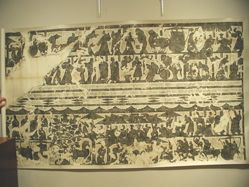 Rubbing of a Relief from the Wu Liang Shrine