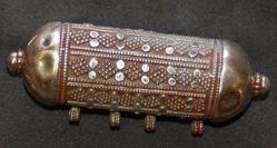Cylindrical amulet