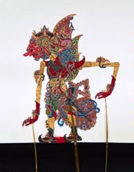 Shadow Puppet (Wayang Kulit) of Duryadana or Suyadana