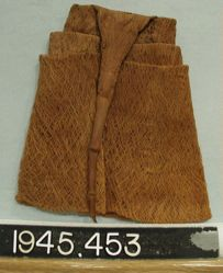 Cap of bark cloth