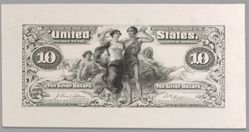 10 Dollar Educational Essay Proof Without Series Date