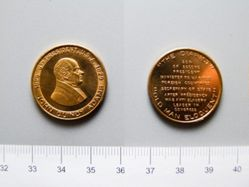 Bronze Token of John Quincy Adams from the United States