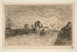 Sortie de la Maison Cochin (Faubourg Saint-Jacques) [Exit from the Cochin House (Faubourg Saint-Jacques)