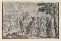 Centurion Beseeching Christ (?) (Luke 7, Mt 8), from Life of Christ