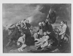 Death of General Wolfe (after Benjamin West)