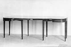 Two-part Dining Table