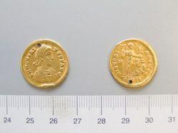 Solidus of Honorius, Flavius, Emperor of Rome from Milan