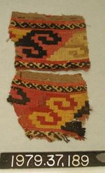 Two textile fragments