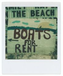 "Untitled [Beachside Sign: ""Boats For Rent"", Destin, Florida]"