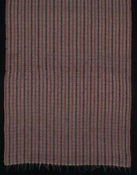 Jamavar Shawl of interlocked twill tapestry