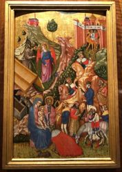 Journey and Adoration of the Magi and the Annunciation to the Shepherds