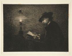 La Lecture a la Lampe