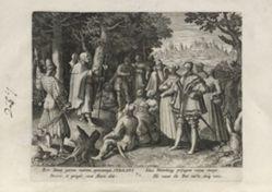 Sebaldus, number 7 of 25 numbered plates from Trophaeum Vitae Solitariae (Male Hermits)