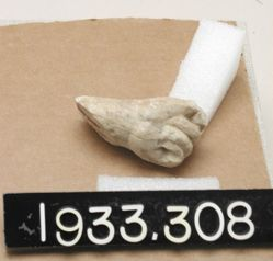 Marble Hand from Statuette