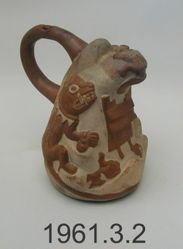 Stirrup Vessel with Mountain Sacrifice