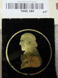 Medallion portrait of Gentleman