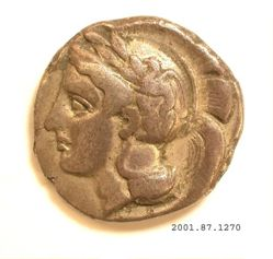 Silver didrachm from Velia