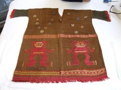 Tunic with gilt ornaments