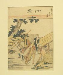 Ejiri, Nineteenth in the series Fifty-three Stations of the Tōkaidō